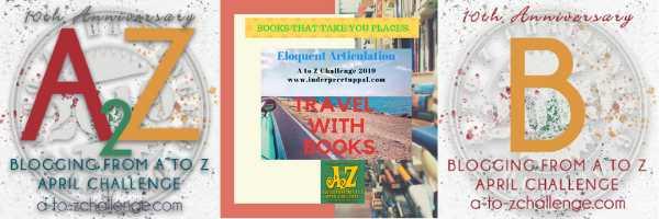 B For Brazil #TravelWithBooks #AtoZchallenge @AprilA2Z