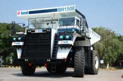 beml launches india's first 150t electric dump truck - gaadikey