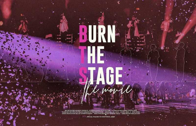 BTS' Burn The Stage Movie | ScrollWindow