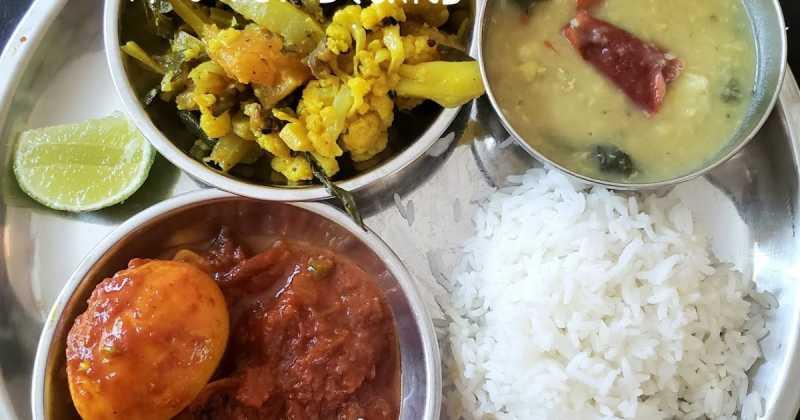 Bati Charchari 2 -- With Cauliflower Stalks Et Al, Pumpkin And Eggplant