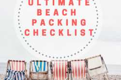 Beach Vacation Packing Checklist You Need | Minimalist Holiday Packing