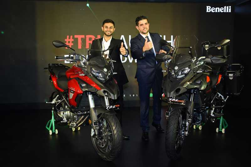 Benelli TRK 502 & TRK 502X Tourer Launched Starting At Rs 5 Lakhs