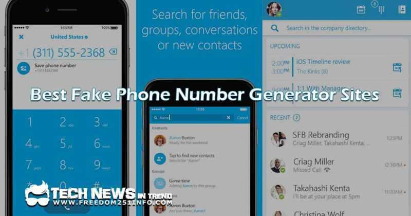 Freedom 251 Info Blogs Best Fake Phone Number Generator For OTP