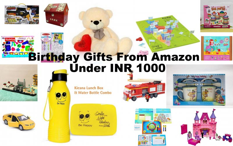 Birthday Gifts For Girls & Boys From Amazon Under INR 1000