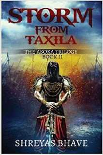 Book Blitz - Storm From Taxila By Shreyas Bhave