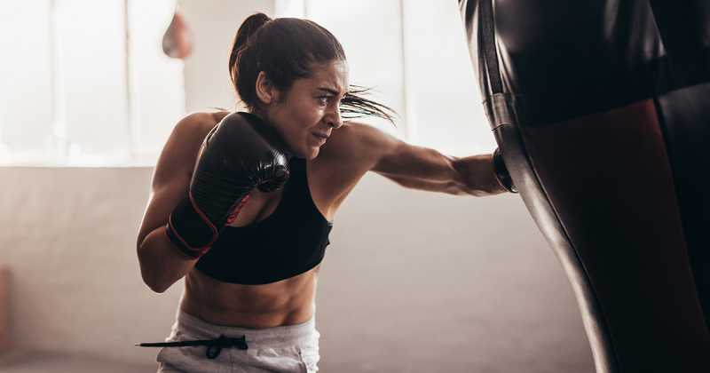 Boxercise: A High Intensity Upper Body Workout - Women Fitness
