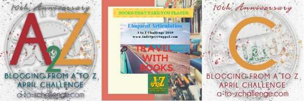 C For Canada #TravelWithBooks #AtoZchallenge @AprilA2Z