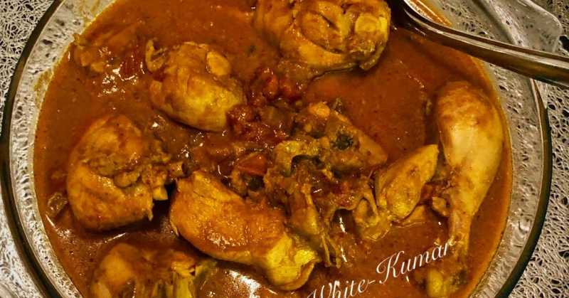 CHICKEN CURRY IN TOMATO AND COCONUT GRAVY