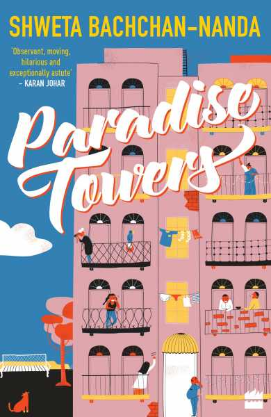 COVER REVEAL: Paradise Towers By Shweta Bachchan Nanda