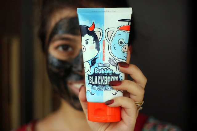 Charcoal Mask Turned Into Bubble Mask? Elizavecca Milk Piggy Hell-Pore Bubble Blackboom Pore Pack Review, Price And Where To Buy