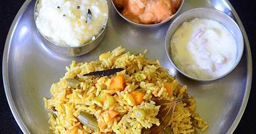 Chettinad Vegetable Biryani Recipe