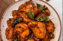 Chicken Peralan | Kerala Style Dry Roasted Chicken #GFTR2018