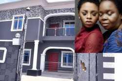 chidinma ekila celebrates, mother will a new house