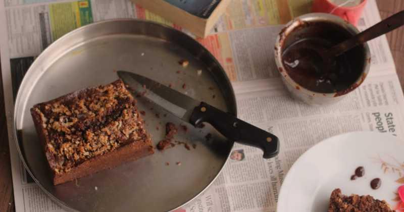 Chocolate ~ Coconut Pound Cake