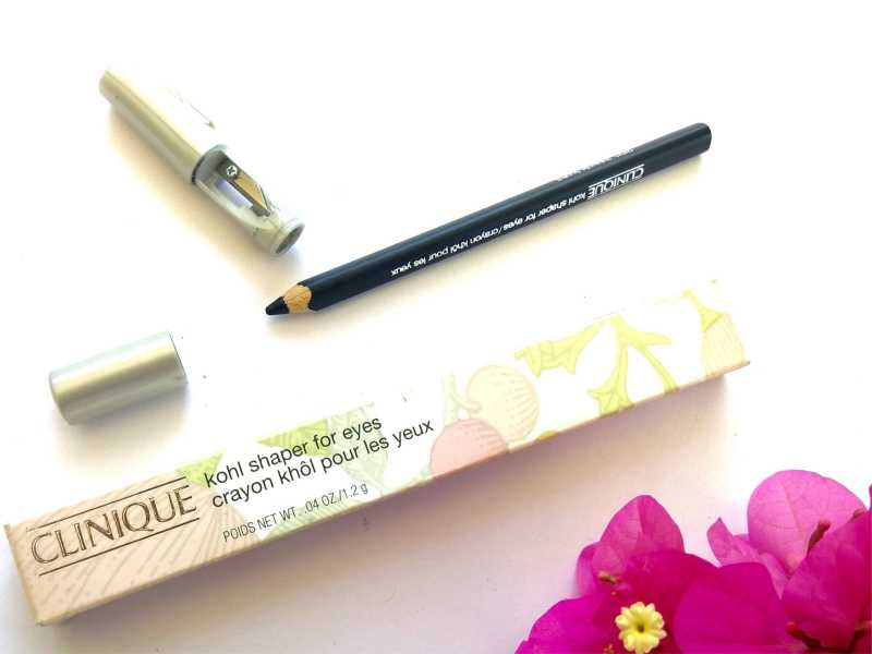 Clinique Black Kohl Shaper For Eyes Review, Swatches