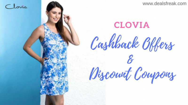 Clovia Cashback Offers August 2018, Combo Packs & Coupons (Big Sale)