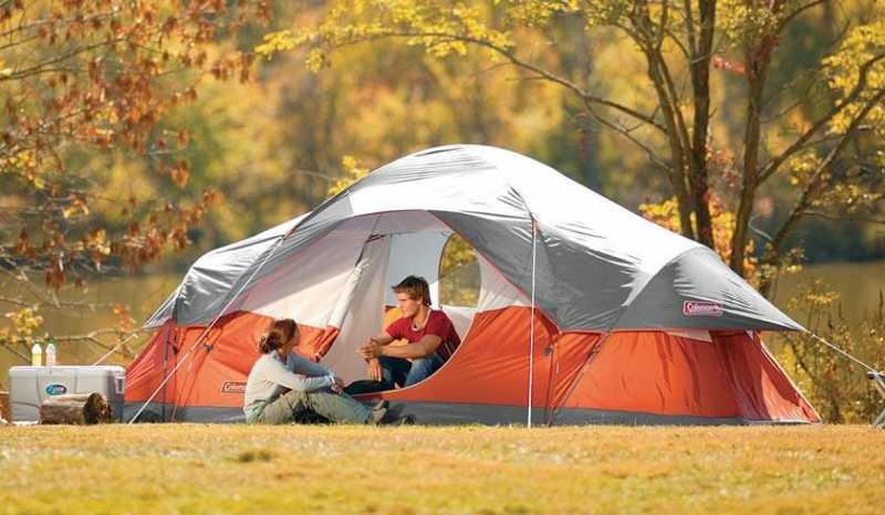 Coleman Red Canyon 8 Person Tent Review | CampStuffs