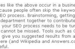 Common Errors In Search Engine  marketing Over Internet