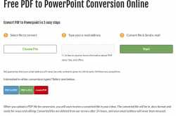 convert pdf files to powerpoint using free online pdf to ppt converter tool