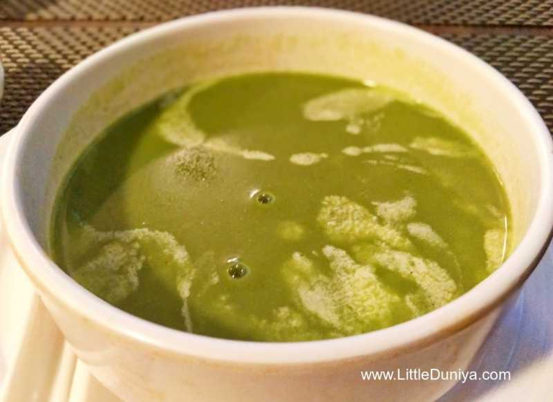 Cream Of Spinach Soup Recipe For Kids (Palak Soup For Kids)