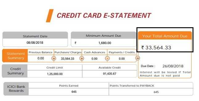 Credit Card Statement - How To Read And Understand?