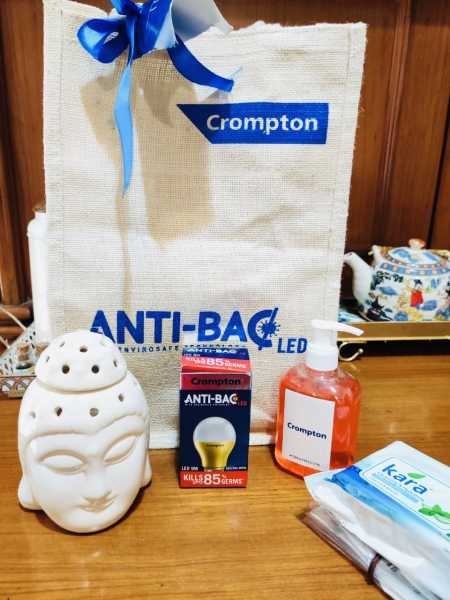 Crompton Launches Anti Bac LED: Germ Free Homes Now At The Flip Of A Switch! - The Average Mom