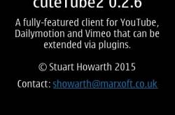 cutetube 2 updated to version 2.0.5.3 [update - not working now]