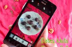 DATES NUTS ENERGY BALL WITH #MY ASUS ZENFONE 5