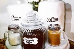 DIY Hot Cocoa & Coffee Bar