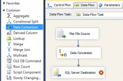 Data Conversion Transformation in SSIS