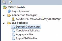Derived Column Transformation in SSIS