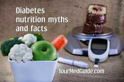 Diabetes Diet Myths and Facts #DiabetesAwareness - Be Healthy, Be Happy