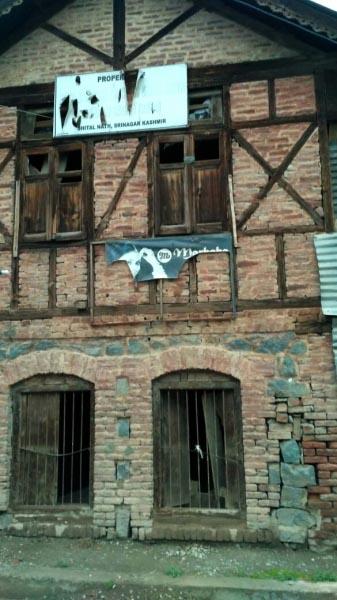 Dilapidated Houses Of Kashmiri Pandits