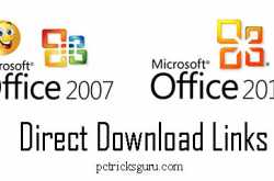 direct download links for office 2007 and office 2010 all editions