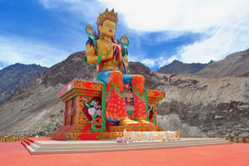 Diskit Monastery Nubra Valley - A Complete Travel Guide