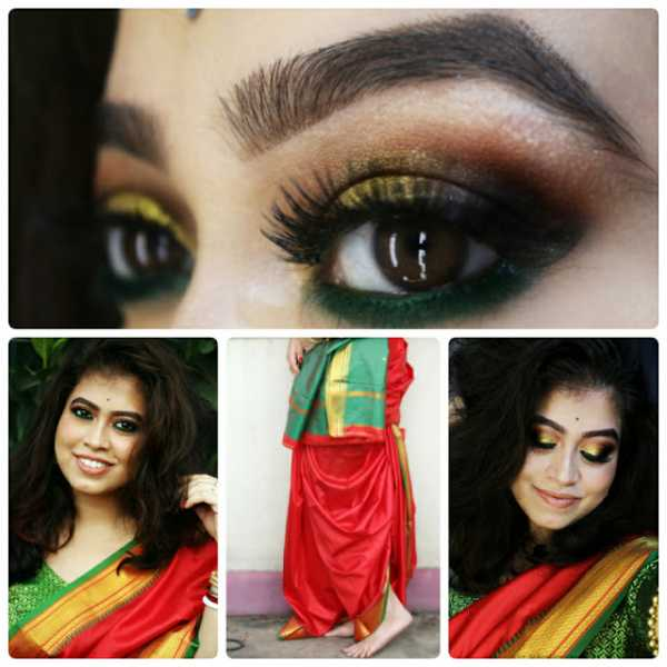 Diwali 2018 : Makeup Breakdown And How To Wear Saree With A Twist