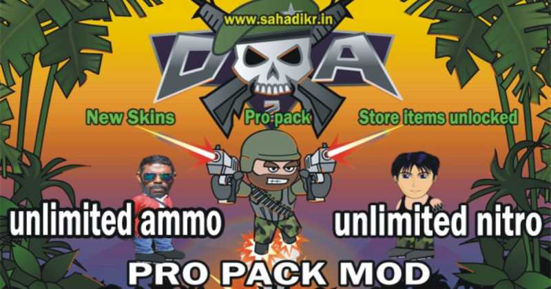 download mini militia mod apk unlimited ammo and nitro