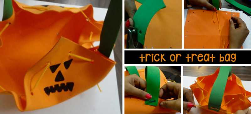 Easy DIY Steps To Make Your Trick Or Treat Bag For Halloween