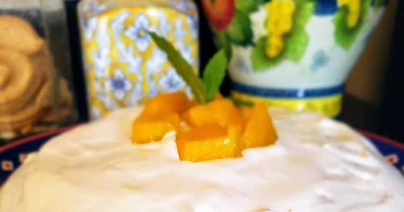 Easy Fresh Mango Cake