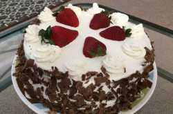 Eggless Date Cake With