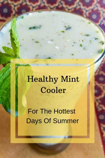 Enjoy This Healthy Mint Cooler On The Hottest Days Of Summer   Little Duniya