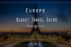 europe trip on a budget!! how to make it possible