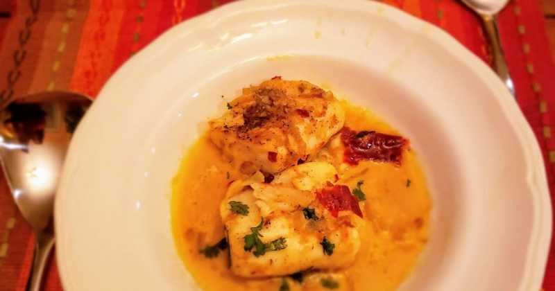 Fish In Ajillo Sauce -- Inspired By Vacations