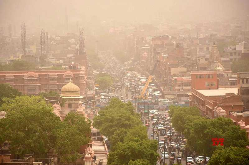 Fresh Storm And Heavy Rain Warning For 26 Cities In Rajasthan - Beautiful Jaipur
