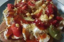 fruits papdi chaat recipe in hindi