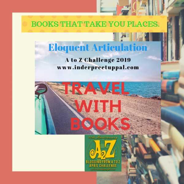 G Is Germany #TravelWithBooks #AtoZchallenge @AprilA2Z