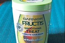 Garnier Fructis Smoothing Treat 1 Minute Hair Mask with Avocado Extract: Review - Colors Of My Life