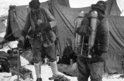George Mallory and Andrew Irvine   8th June 1924