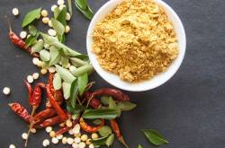 gun powder chutney recipe - how to make milaga podi