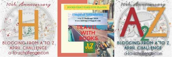 H Is Hungary  #TravelWithBooks #AtoZchallenge @AprilA2Z